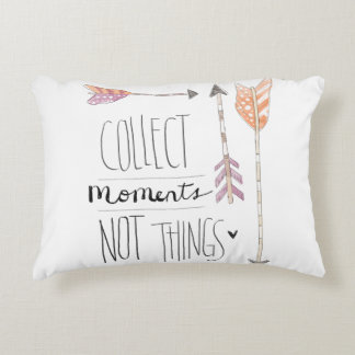 Collect Moments | Change your background color Decorative Pillow