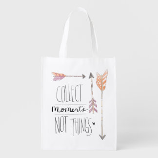 Collect Moments | Change your background color Market Tote