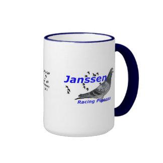 Collectable series  Janssen Racing Pigeons Mugs