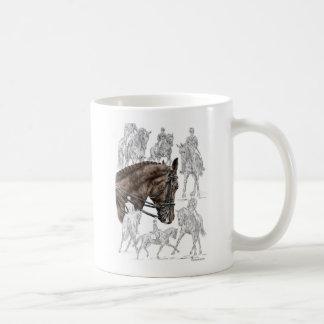 Collected Dressage Horses FEI Coffee Mug