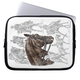 Collected Dressage Horses FEI Computer Sleeve