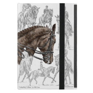 Collected Dressage Horses FEI Cover For iPad Mini