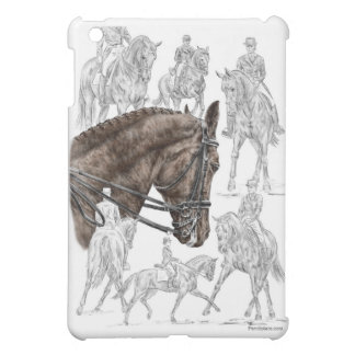 Collected Dressage Horses FEI iPad Mini Cases