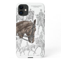 Collected Dressage Horses FEI iPhone 11 Case