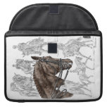 Collected Dressage Horses FEI Sleeves For MacBook Pro