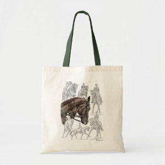 Collected Dressage Horses FEI Tote Bag