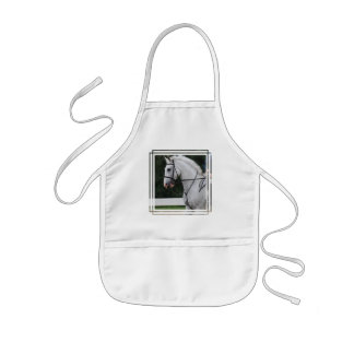 Collected White Horse Children's Apron