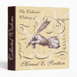 Collected Writings - Antique Calligraphy Notebook 3 Ring Binder