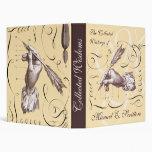 Collected Writings - Antique Calligraphy Notebook Vinyl Binder