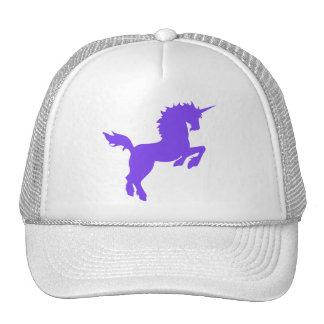 Collectibel colorea unicornio en CASQUILLO púrpura Gorras