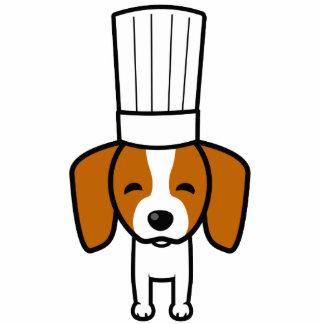 Collectible Chef Mascot Acrylic Sculpture