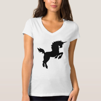 Collectible colors unicorn in Black Tee