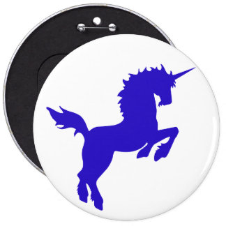 Collectible colors unicorn in Blue Button