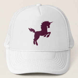 Collectible colors unicorn in Maroon Cap
