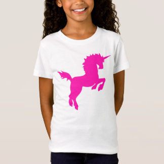 Collectible colors unicorn in Pink Tee