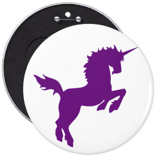 Collectible colors unicorn in Plum Button