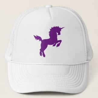 Collectible colors unicorn in Plum Cap