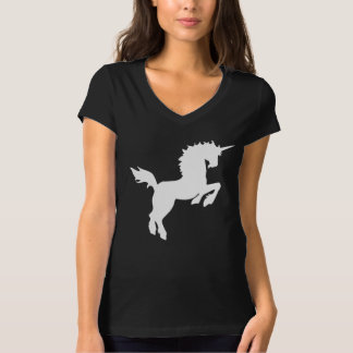 Collectible colors unicorn in White Tee