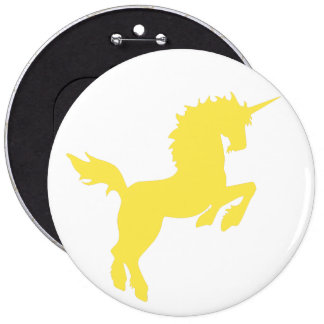 Collectible colors unicorn in Yellow Pin