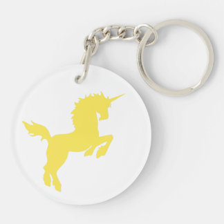 Collectible Colors Yellow Key Ring