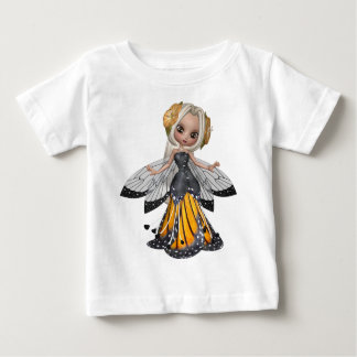 ♥ Collectible Fairy Flower Doll Art ♥ (pixie5) Baby T-Shirt