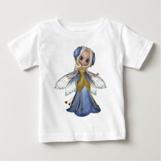 ♥ Collectible Fairy Flower Doll Art ♥ (pixie6) Baby T-Shirt