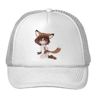 ♥ Collectible Fox Doll Art ♥ (dolfie1) Trucker Hat