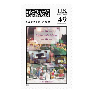 Collectible Meals Postage Stamp