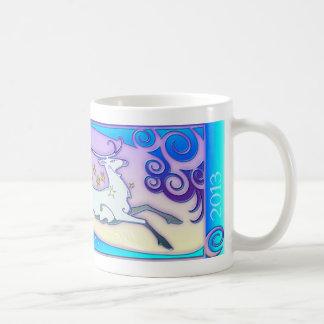 """Collectible & Original 2013 """"Joy"""" Reindeer Mug"""