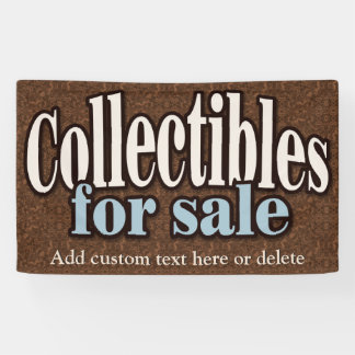Collectibles.AntiquesCustomizable For Sale Sign Banner