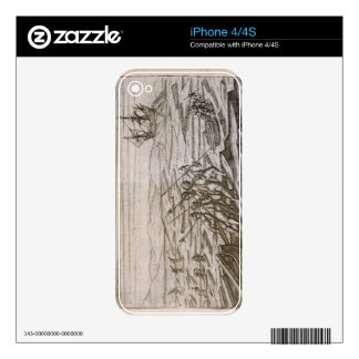 Collecting driftwood for the cabin in which the ex skins for the iPhone 4