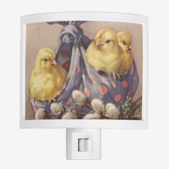 Collecting Easter Chicks Night Light