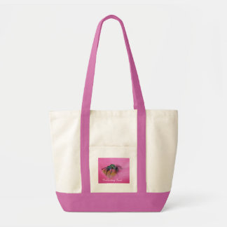 Collecting food tote bag