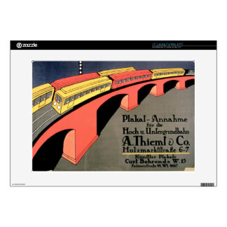 """'Collecting Point For Over and Underground Railway Decal For 15"""" Laptop"""