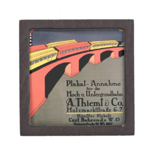 'Collecting Point For Over and Underground Railway Gift Box