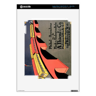 'Collecting Point For Over and Underground Railway iPad 3 Skin
