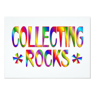 Collecting Rocks Card