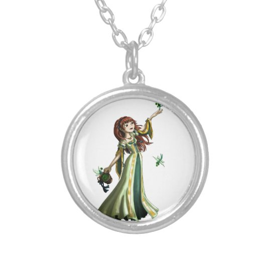 Collecting Shammrocks Silver Plated Necklace