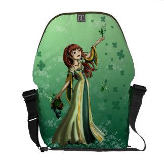 Collecting Shamrocks Messenger Bag