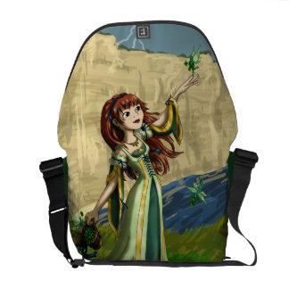 Collecting Shamrocks Messenger Bags
