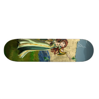 Collecting Shamrocks Skateboard