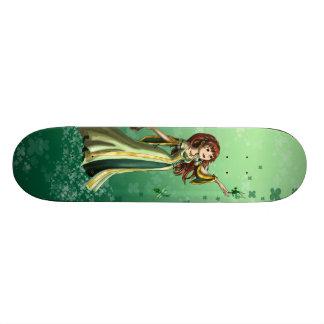 Collecting Shamrocks Skate Deck