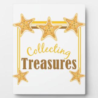 Collecting Treasures Plaque