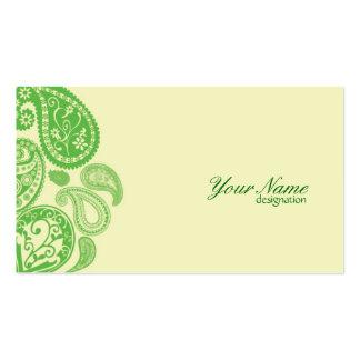 Collection2 femenino tarjeta de visita