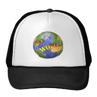 Collection 3D World Trucker Hat