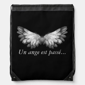 "Collection ""an angel passes…"" Bag of PE, swimming"