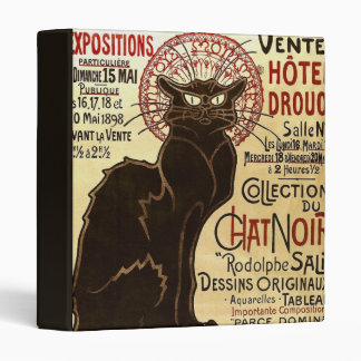 Collection du Chat Noir de Rodolphe Salis Fine Binder