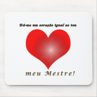 Collection heart mouse pad