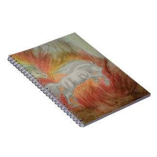 Collection '' Horses and Fire '' Notebook