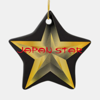 Collection Japan STAR Ceramic Ornament